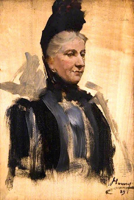 famous painting Mrs Stewart Clark (sketch) of John Lavery