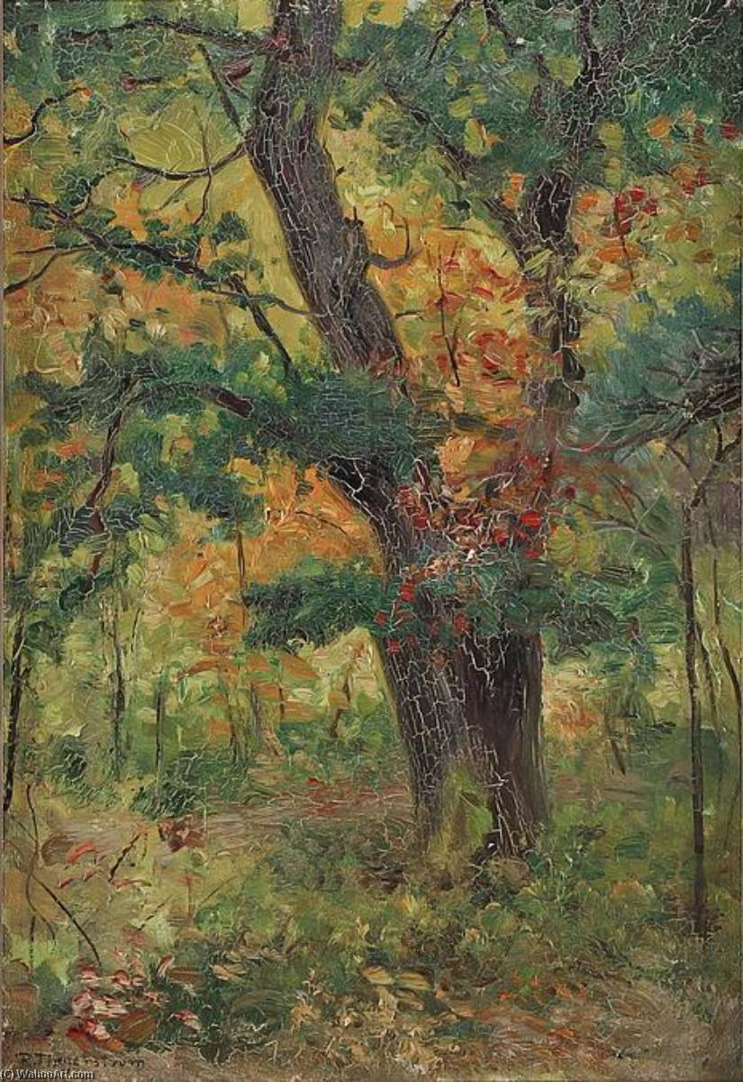 famous painting The Forest of Robert Thegerstrom