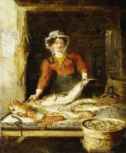 William Kidd - The Fish Stall