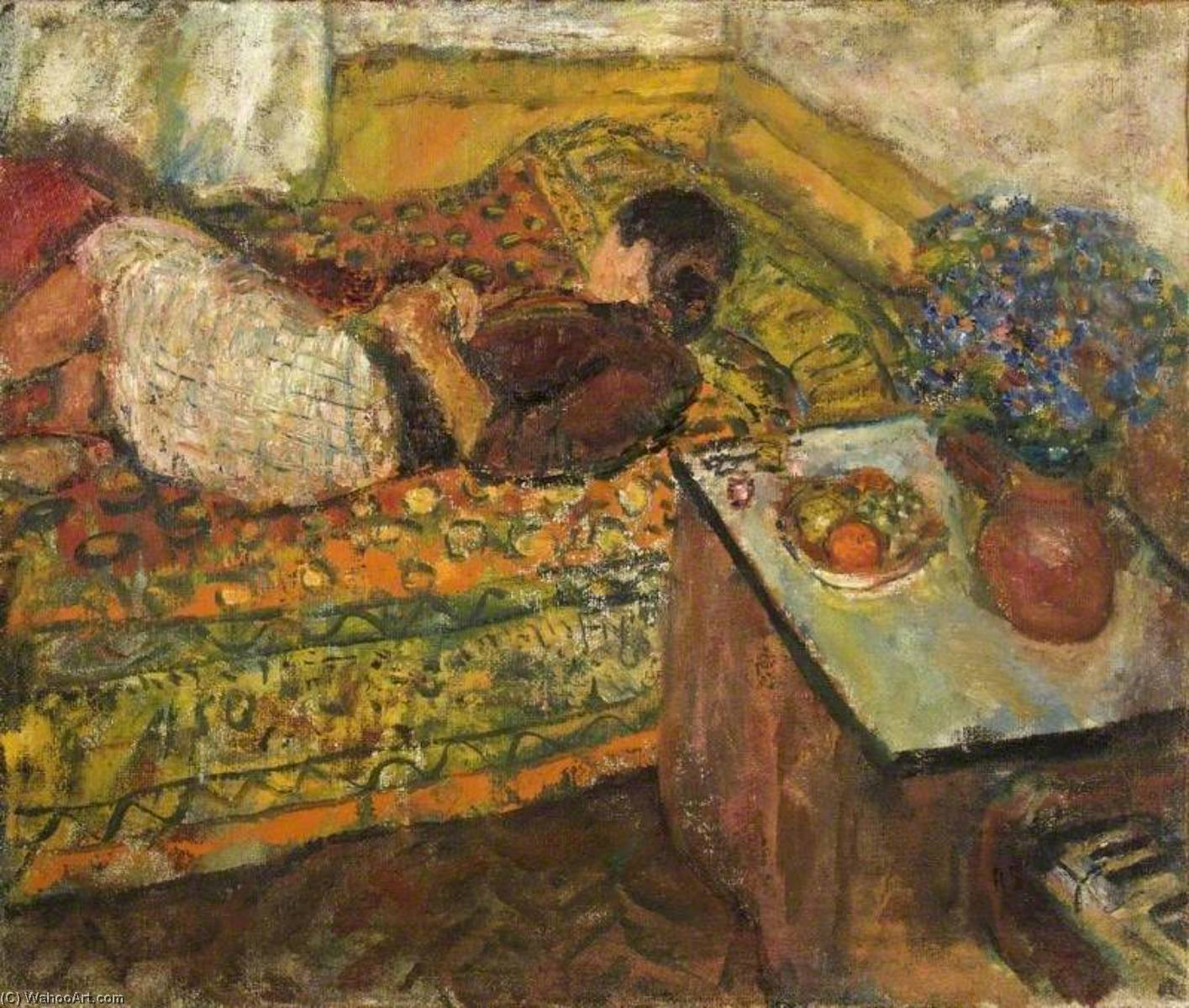 | Siesta by Ruskin Spear | Most-Famous-Paintings.com