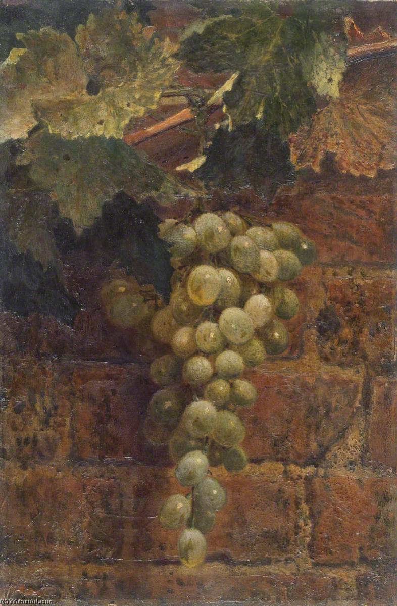 famous painting Grapes of George Frederick Harris