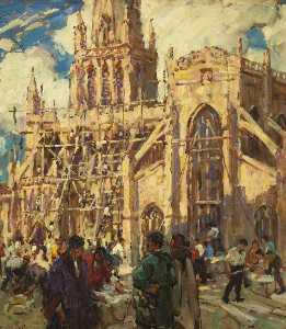 Terrick John Williams - The Rebuilding of St Mary Redcliffe