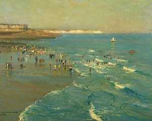 Arthur James Wetherall Burgess - Brighton Sands