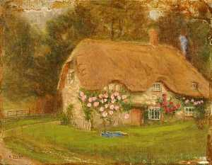 Kate Allen Tryon - Gamekeeper's Cottage, Burderop, Wiltshire
