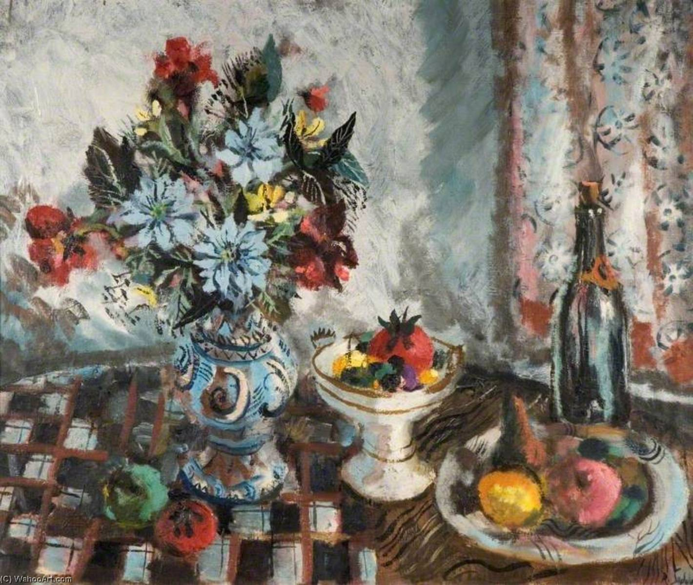 famous painting Still Life with Fruit and Flowers of Rowland Suddaby