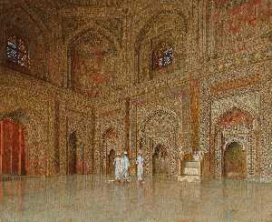 Vasily Vasilievich Vereschagin - The Chief Mosque in Futtehpore Sikri