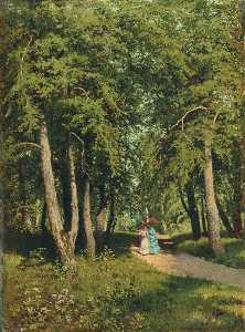 Andrei Nikolaevich Shilder - In the Park