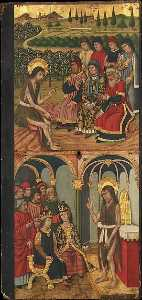 Domingo Ram - Panel of Saint John the Baptist with Scenes from His Life