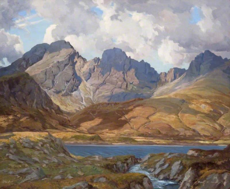 famous painting Spring Morning, Blaven of Francis Patrick Martin