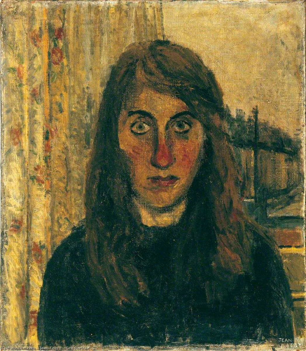 famous painting Self Portrait of Jean Cooke
