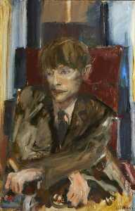 Yolanda Sonnabend - Portrait Study of Stephen William Hawking (b.1942), CH, CBE, FRS, FRSA