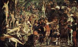 Jacopo Tintoretto - The Martyrdom of the Ten Thousand