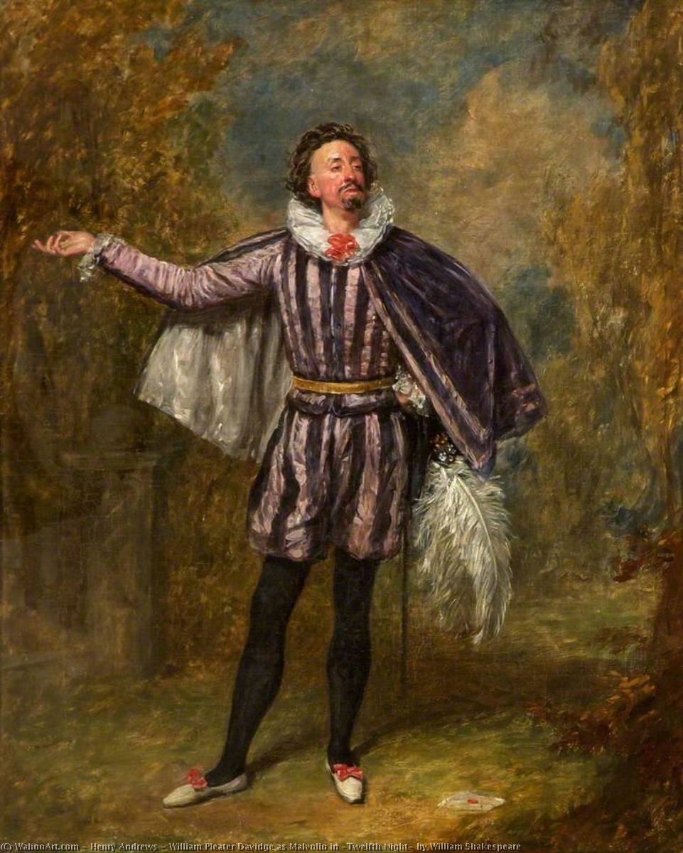 malvolio s character in shakespeare s twelfth night Mortifyingly, as malvolio is shown up in twelfth night there are those who see twelfth night not so much as the culmination of a sequence of comedies, after which the path leads to the so-called problem plays like measure for.