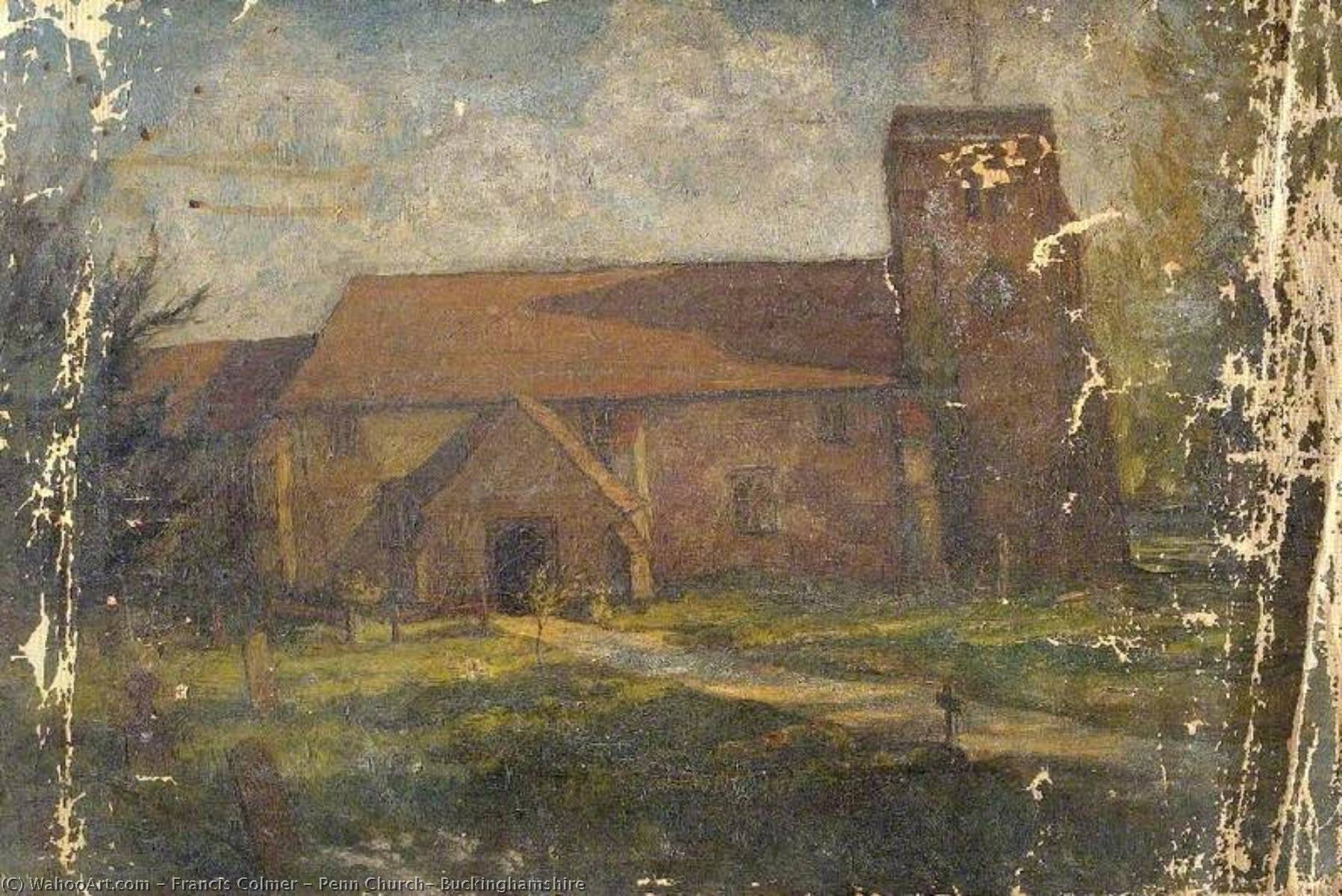 famous painting Penn Church, Buckinghamshire of Francis Colmer